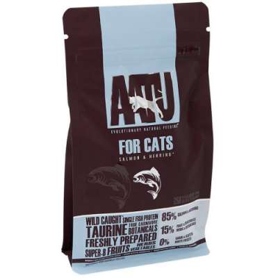 AATU Cat Dry - Salmon & Herring 200 g, 1 kg, 3 kg