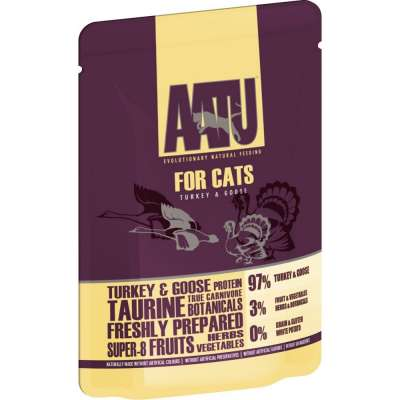 AATU Cat wet - Turkey & Goose 85 g