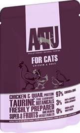 AATU Cat wet - Chicken & Quail  85 g