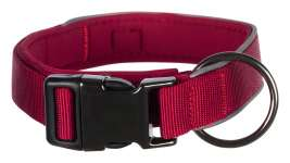 Trixie Experience Halsband, extra breed  Bordeaux