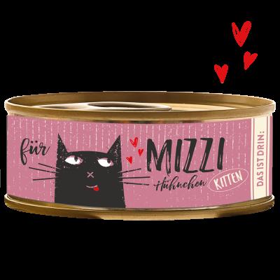 Bubeck Mizzi Kitten Feines Hühnchen Dose 100 g