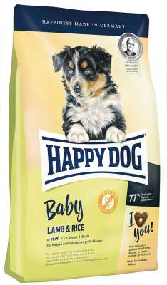 Happy Dog Supreme Young Baby com Lamb & Rice 1 kg