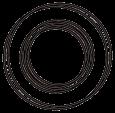 Sera  O-Sealing Rings  Svart nätaffär