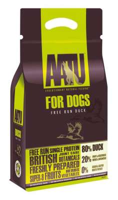 AATU For Dogs - 80/20 Canard  10 kg, 5 kg, 1.5 kg