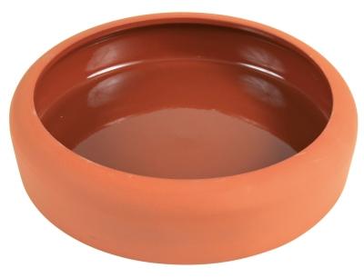 Trixie Ciotola in Ceramica con Bordo Arrotondato 600 ml Marrone
