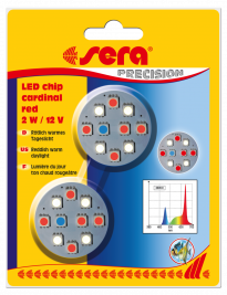 Sera LED Chips - Cardinal Red  Corallo