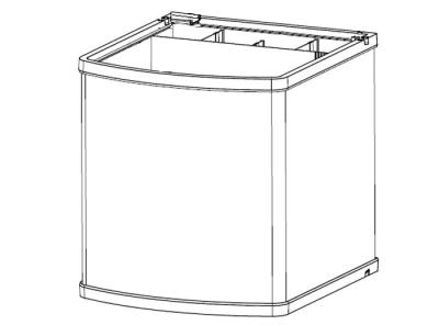 Sera Bassin de Rechange pour Sera Biotop LED Cube 130 XXL
