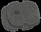 Sera Filterschwamm für Fil Bioactive 130 / 130+UV Schwarz  - Preis: 3.03 CHF