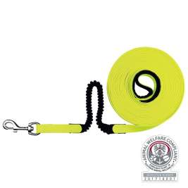 Trixie  Easy Life Tracking Leash with Shock Absorber Gul pris