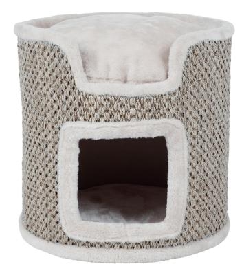 Trixie Cat Tower Ria Lichtgrijs 37×37 cm