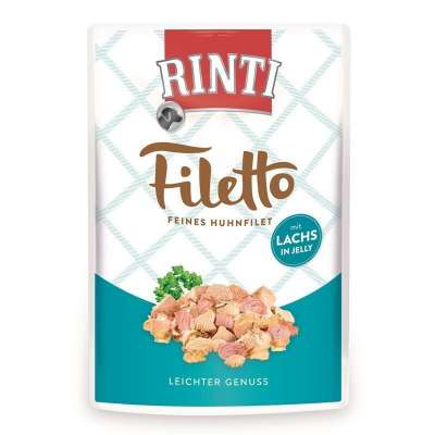 Rinti Filetto in Jelly Feines Huhnfilet mit Lachs  100 g