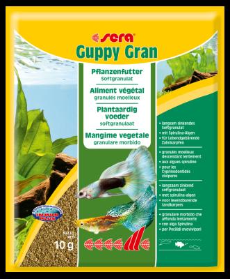 Sera Guppy Gran  48 g, 120 g, 10 g