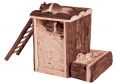Trixie Natural Living Play and Burrow Tower  20x20x16 cm