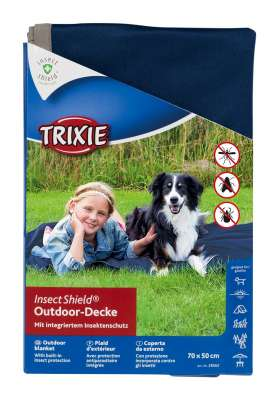 Trixie Insect Shield Outdoor-Deken Marine 100x70 cm