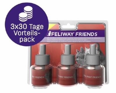 Feliway Friends Recharges, 3x30 jours 3x48 ml