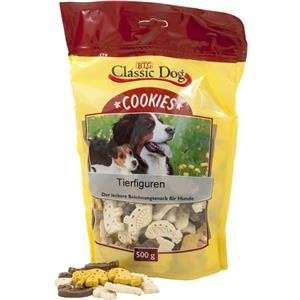 Classic Dog Snack Cookies Figures des Animaux 500 g