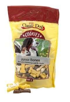 Classic Dog Buiscuits Junior Os 500 g Céréales