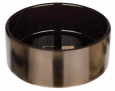 Trixie Ceramic bowl with pattern, Bronze/brown