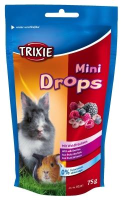 Trixie Mini Drops für Nagetiere mit Waldfrüchten