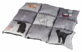 Trixie Patchwork Blanket Cat, grey 55x45 cm