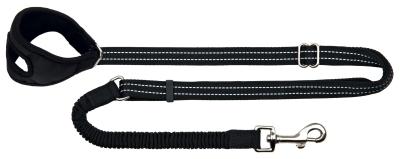 Trixie Jogginglijn, zwart 0.9-1.3 m