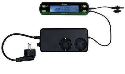 Trixie Thermostat, Digital, mit Zwei Schaltkreisen 16×4 cm