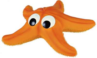 Trixie Starfish, Latex Orange 23 cm