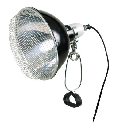 Trixie Lampe Reflecteur à Pince avec la Grille de Sécurité 21×19 cm