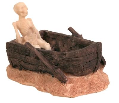 Trixie Skelett im Boot 12 cm