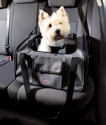 Trixie Autostoel en -tas, grijs/zwart 30x38x44 cm