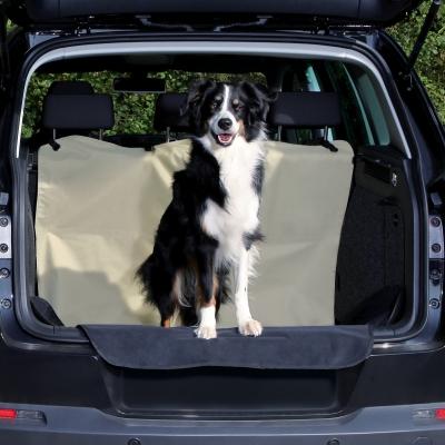 Trixie Kofferbak-Beschermdeken, beige/zwart 180x130 cm