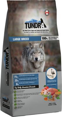 Tundra Dog Large Breed  750 g, 3.18 kg, 11.34 kg