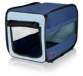 Twister Mobile Kennel, dark blue/light blue Trixie 4011905396934