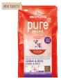 Meradog Pure Mini Adult Lamb & Rice 1 kg - Ruokaa varten pikkuinen koirille