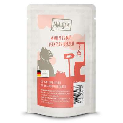 MjAMjAM Meal with tasty Hearts 800 g, 400 g, 200 g, 125 g