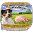 MAC's Hund Schale Huhn Pur mit ganzen Geflügelherzen 150 g  zusammen kaufen