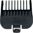 Trixie  Attachment Combs for Andis Type MBG-2 and AGC-2  Musta verkkokauppa