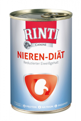 Rinti Canine Kidney Diet Canned  400 g, 12x400 g