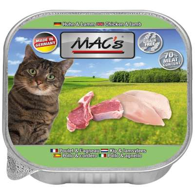 MAC's Cat - Frango & Cordeiro em Tigela 85 g