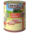 Kitten - Turkey & Rabbit MAC's 400 g