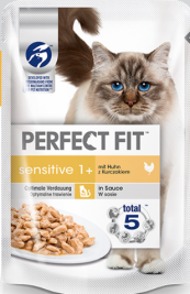 Sensitive 1+ mit Huhn von Perfect Fit 85 g EAN: 8410136010163