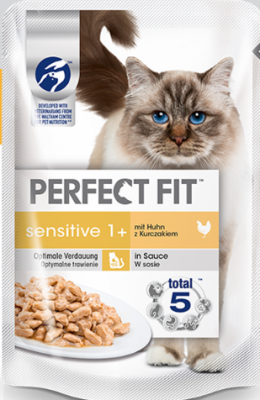 Perfect Fit Sensitive 1+ mit Huhn 85 g