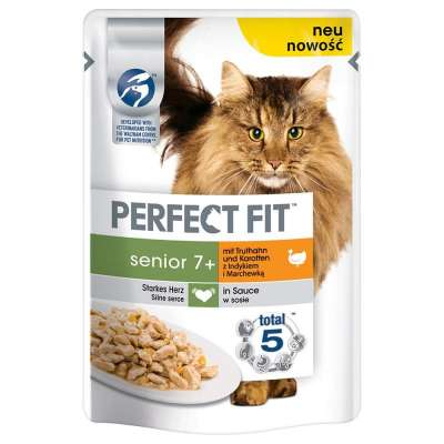 Perfect Fit Senior 7+ with Turkey & Carrot 85 g