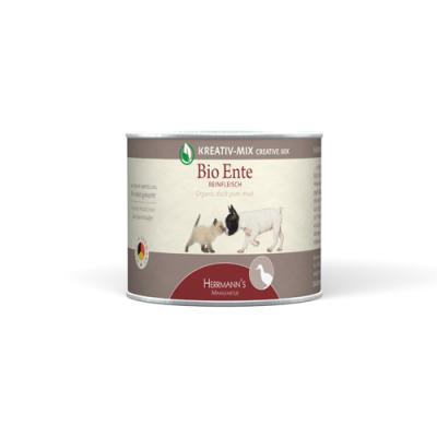 Herrmann's  Creative-Mix Viande pure Canard Bio en boîte  800 g, 400 g, 200 g, 100 g