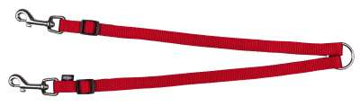 Trixie Terminal Duplo Premium Vermelho 40-70x1.5 cm