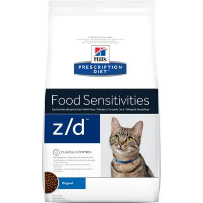 Hill's Prescription Diet Feline - z/d Low Allergen Original 2 kg