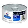Prescription Diet Feline - z/d Food Sensitivities - Original  156 g por Hill's