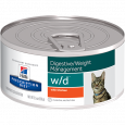 Hill's Prescription Diet Feline - w/d Digestive / Weight Management with Chicken 156 g