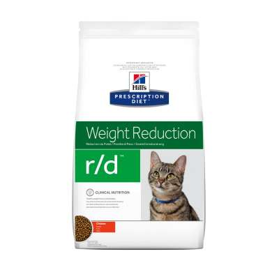 Hill's Prescription Diet Feline - Weight Reduction r/d mit Huhn 5 kg