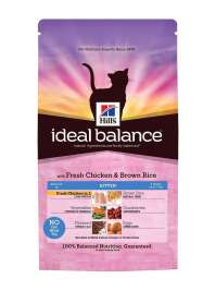 Hill's Ideal Balance Kitten with Fresh Chicken and Brown Rice  300 g
